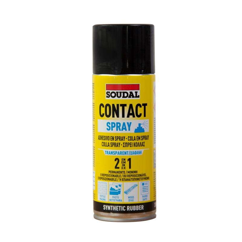 Adhesivo de contacto aerosol contact adhesive Spray x 300 gr Soudal