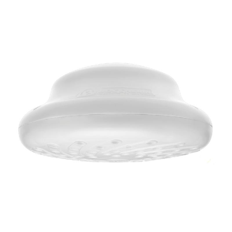 Ducha maxi Zent blanca con miniducha 120v Boccherini